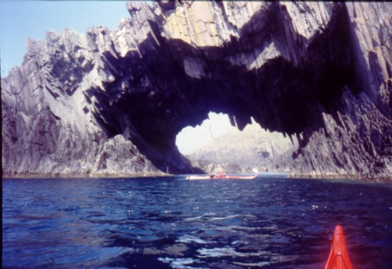 A sea kayaker's view